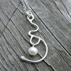 Expectation. A Pregnancy/Birth Necklace. on Etsy, $84.00