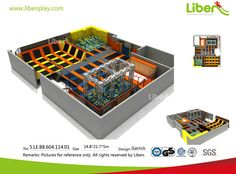 Indoor Trampoline Park Builder-Design Best Trampoline, Backyard Trampoline, Professional Trampoline, Parking Design, Keep Fit, Playground, Things That Bounce, Trampolines, Fitness