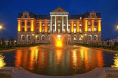 Amber Palace, Wloclawek, Poland Such a beautiful hotel! Baltic Sea, Central Europe, Beautiful Hotels, Krakow, Town Hall, Lithuania, Hostel, Homeland, Places To Go