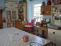 Very pretty #shabby #kitchen