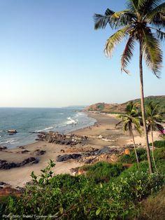 Anjuna Beach, #Goa Incredible India, Amazing Nature, Wonderful Places, Beautiful Places, India Travel, Goa, Wildlife, The Incredibles, City