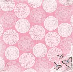 Isabella Background Pictures, Paper Background, Background Patterns, Scrapbook Designs, Scrapbooking Ideas, Butterfly Pictures, Decoupage Paper, Pretty Patterns, Printable Paper
