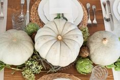 Thanksgiving Series Part 1: A Dressed Up Table Setting | simple and natural tablescape