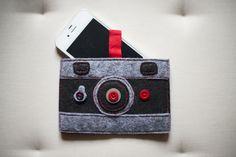 Regalos DIY: estuche con cremallera, bolsa de tela y funda iPhone