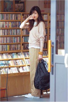 茶色・ベージュ×合う色5色コーデ!2016春夏の着こなしも♡の画像 | 美人部