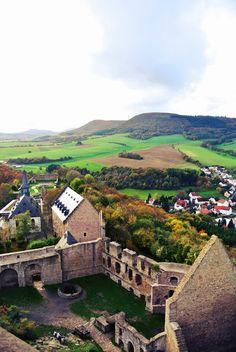 Burg Lichtenberg, Thallichtenberg, Germany (view from the tower)