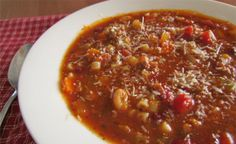 Daily Dinner Idea: Pasta E Fagioli Soup