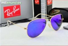. NUEVOS COLORES para la ic�nica gafa de Ray Aviador 3025, la tendencia a los espejados ya viene siendo habitual en las gafas de moda. Caracter�sticas: Montura de metal, forma de aviador original. Lentes 3N. Protecci�n 100% rayos da�inos del sol. Uso: