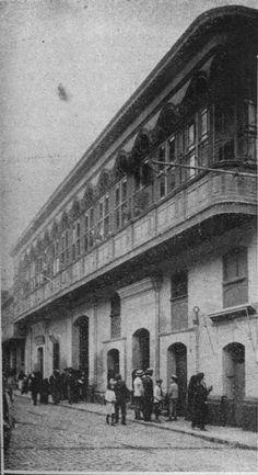 Lima Calle Mata Vilela Casa Antiguo Correo 19210416
