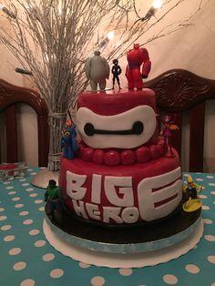 Big Hero 6 birthday cake
