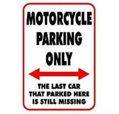 go ahead, park your car here!