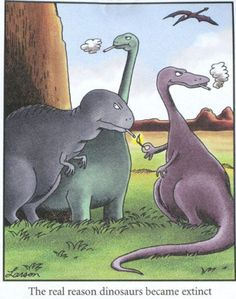 Visit the official online home of The Far Side comic strip by Gary Larson for your daily dose of Gary's classic cartoons. Far Side Cartoons, Far Side Comics, Funny Cartoons, Funny Comics, Funny Memes, Funny Quotes, Math Memes, Cartoon Jokes, Cartoon Images