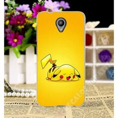 Carcasa TPU personalizada Pikachu Pokémon para Vodafone Smart Prime 7