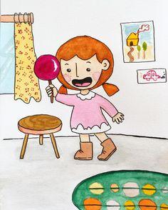 Ilustración infantil por Penknives Design