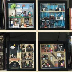 Lego Frame, Playroom Table, Lego Iron Man, Lego Photo, Lego Harry Potter, Lego Moc, Big Bang Theory, Legos, Photo Wall