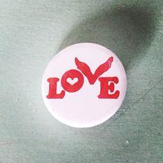 C<3 ldplay (I love wearing my pin)