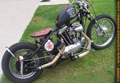 Photo of 1970 Harley Davidson IronHead Sportster Oldschool Bobber by Dusty.