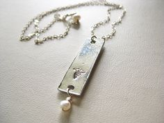 Medical Alert Personalized Bar Necklace by BoxofPearlsbyAmanda