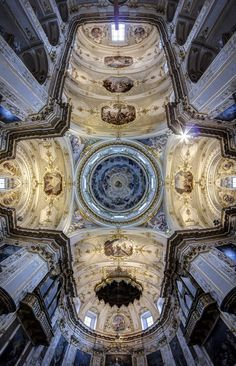 044a38debdf Danilo Pavone ( took off a spectacular series of photographs ceilings  cathedrals Italian city of Bergamo and Acireale. The series is called  Vanishing Points