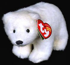 Icepack - polar bear - Ty Beanie Babies