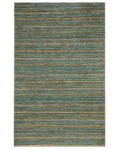 RugStudio presents Rugstudio Sample Sale 76875 Angel Blue Sisal/Seagrass/Jute Area Rug