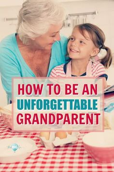 The love between grandparents and grandchildren is built over time and through shared experiences. Creating memories for your grandchildren is good for you and your grandchildren. Here's how to be an unforgettable grandparent. tips and grandchildren Grandmothers Love, Fun Crafts To Do, Pregnancy Information, Pregnant Mom, Activities To Do, Grandchildren, Granddaughters, Kids And Parenting, Parenting Quotes