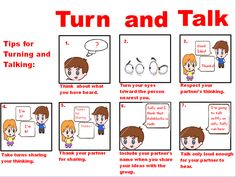 Accountable Talk Posters | Turn & Talk poster created by Kelly ...