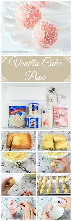 34 Cake Pop Recipes You'll Fall In Love With - Captain Decor