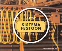 SISTEMA FESTOON en México por la marca; Gleason Reel.  A la orden en:  www.artoc.com.mx  Tel. 52+ (81) 80 57 08 71   Monterrey, México. Tel. 866-631-55-45   Monclova, Coahuila.
