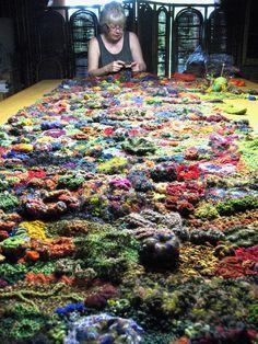 Free Form Crochet Stitches Tutorials | Contextart Tutor – Prudence Mapstone