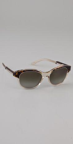 Stella McCartney Rounded Sunglasses, $225