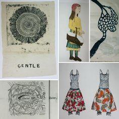 Kiki Smith's screenprints, etching, lithographs