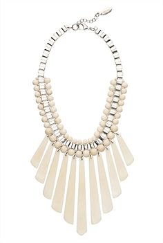 Jungle Necklace Love this, would go with so many different outfits ! Jewelry Sets, Women Jewelry, Summer Christmas, Formal Dresses For Women, Neck Piece, Season Colors, Tassel Necklace, Color Pop, Jewels