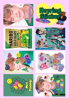 Pop Stickers, Tumblr Stickers, Printable Stickers, Bts Polaroid, Polaroids, Kpop Diy, Kids Diary, K Pop, Bts Aesthetic Pictures