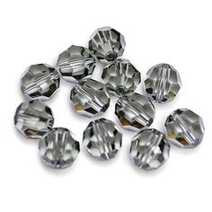 15 x 4mm Faceted Crystal Bicone AB Beads Autumn Mix Bead Craft FREE UK P+P L58