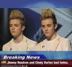 Jimmy Neutron & Cindy Vortex has Twins