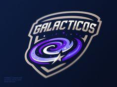 Galacticos logo - for sale by Dlanid #Design Popular #Dribbble #shots