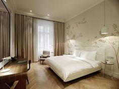 Hotel als inspiratie voor de slaapkamer. Sans Souci - Casa Vogue