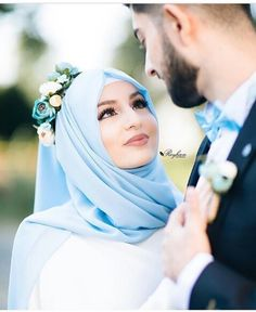 Wedding hijab, muslim couple photography e cute muslim couples. Wedding Couple Poses Photography, Wedding Poses, Wedding Photoshoot, Wedding Couples, Cute Muslim Couples, Muslim Girls, Cute Couples, Muslim Women, Muslim Wedding Dresses