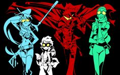desgins desktop images gurren lagann wallpapers