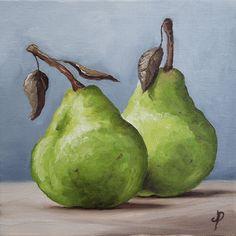 Jane Palmer Fine Art: Pair of Pears