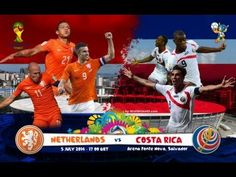 Costa Rica vs Netherlands World Cup 2014 Promo Knockout Round Hype Video - YouTube