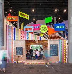Discovery Season Pavilion / Morag Myerscough + Luke Morgan