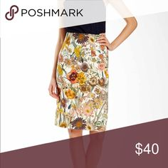 "💕Gorgeous💕Catherine Malandrino Skirt🍂 Absolutely beautiful Catherine Malandrino Pencil Skirt.  Exposed zipper in back along with a 7"" slit. Total length of skirt is 26"". 🍂 Great for fall! 🍂 Can be paired with heels or some cute booties! 🚫No trades🚫 Catherine Malandrino Skirts Pencil"