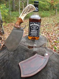 T.M. Hunt Custom Cleaver..there it is folks, another fabulous work of art. The best T.M. Hunt :)