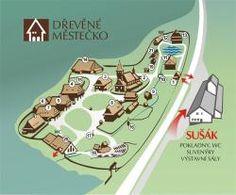 Rožnov pod Radhoštěm,Dřevěné městečko   Valašské muzeum v přírodě