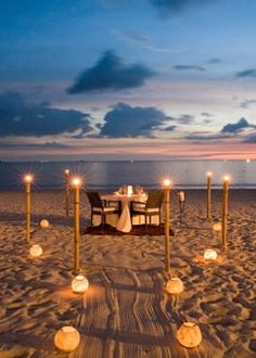 Beach Dinner Places Travel Most Beautiful
