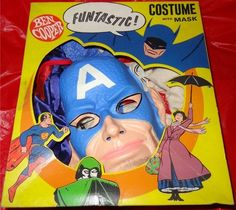 1966 Captain America Costume