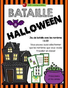 Jeu de la bataille Halloween! :)