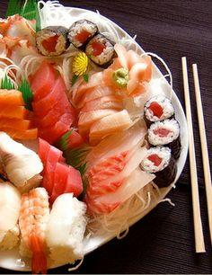 On my first evening in Japan, I dined on sashimi.... VIP flight attendants often serve Sashimi and therefore should know how to serve it safe. Food safety training details at www.trainingsolutions.ch